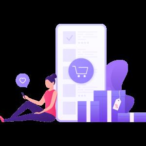 Customer mobile shopping